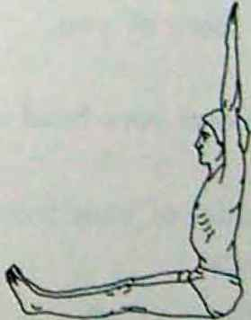 Yoga Entwined Arms